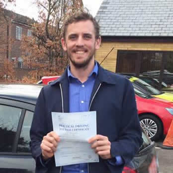 Review by Cole Robertson for Harman Driving School in Oxford
